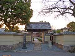 大蓮寺山門