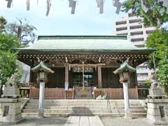 松原神社拝殿