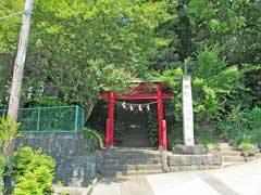 風祭八幡神社鳥居