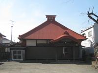 観心寺本堂