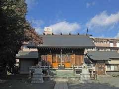 日枝神社社殿