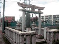 古宮鹿島神社鳥居
