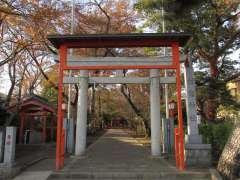 村富神社鳥居