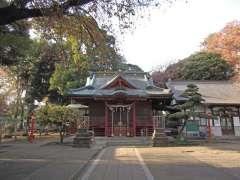村富神社拝殿