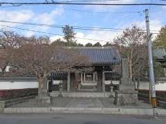 青柳寺山門
