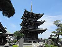泉龍寺三重塔