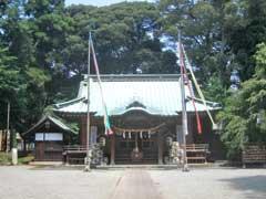 深見神社拝殿