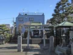 上品寺内八幡神社鳥居
