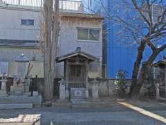 上品寺内八幡神社拝殿