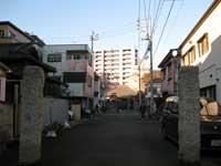 恵明寺参道