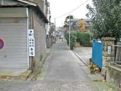 観音院参道