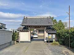 立増寺山門