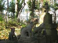 半田稲荷神社狐