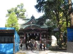 葛西神社拝殿