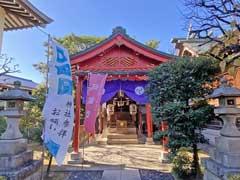堀切氷川神社神楽殿