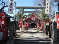 堀切氷川神社芽の輪