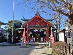 堀切氷川神社拝殿