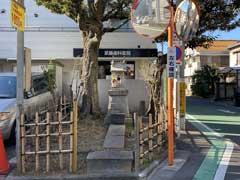 堀切氷川神社拝殿と本殿