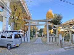 小谷野神社鳥居