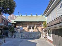 天祖神社拝殿