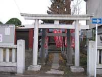 東稲荷神社鳥居