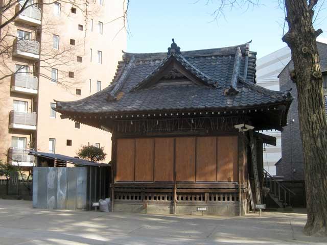 亀有香取神社神楽殿(旧拝殿)