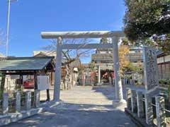 小菅神社鳥居