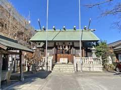 小菅神社拝殿