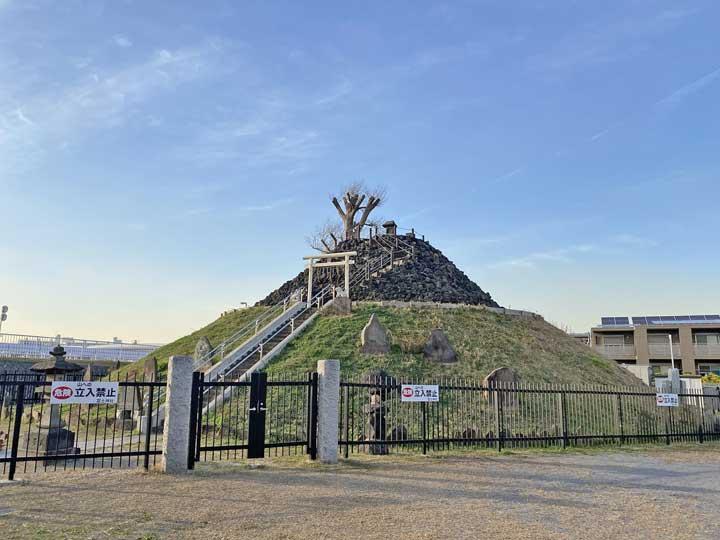 飯塚の富士塚