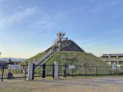 白髭神社と富士塚