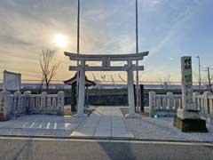 南水元富士神社鳥居