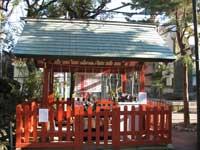 立石熊野神社水盤舎