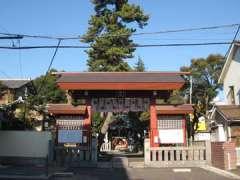 立石熊野神社参道