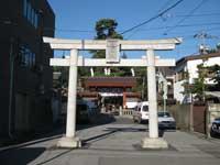 立石熊野神社鳥居
