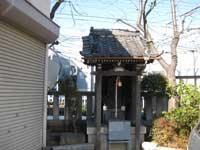 立石諏訪神社の猿田日子の祠