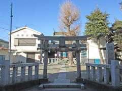 梅田稲荷神社全景