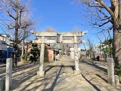 高木神社鳥居