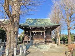 高木神社拝殿