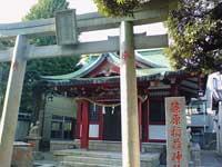 篠原稲荷神社鳥居
