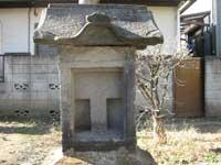 立石稲荷神社石祠