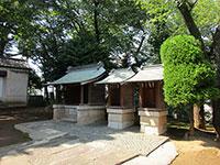 袋諏訪神社境内社