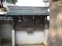稲付香取神社拝殿