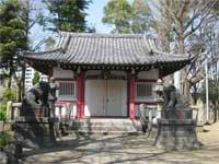 船方神社拝殿