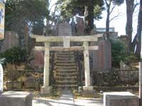 十条富士神社鳥居