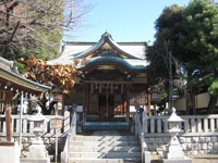 柏木神社拝殿