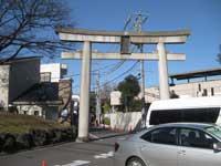 七社神社参道