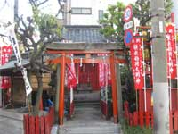 装束稲荷神社参道