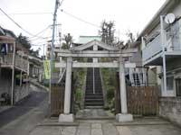 田端日枝神社鳥居