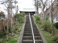 田端日枝神社参道