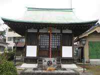 田端日枝神社拝殿